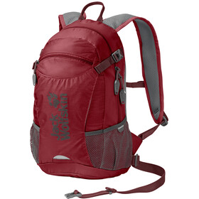 Jack Wolfskin Velocity 12 Backpack red maroon
